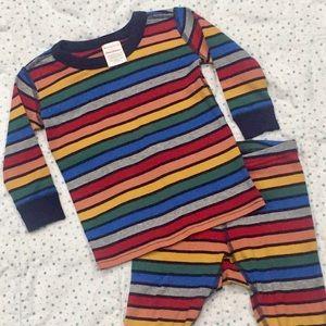 Hanna Andersson striped pajamas
